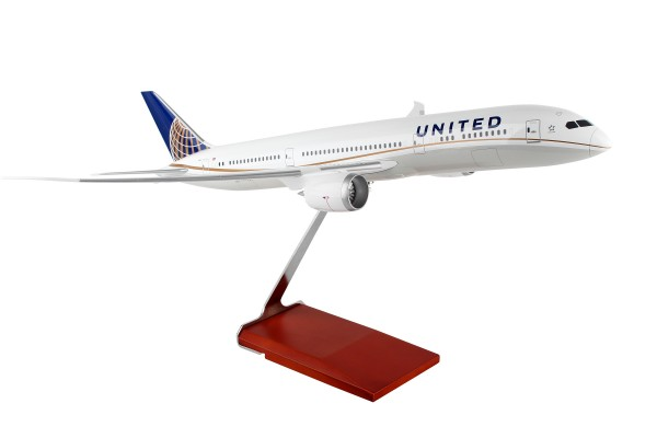 Boeing 787-9 United Airlines N38950 Scale 1/100 w/Gear
