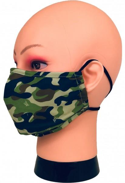"""Mund- und Nasenschutz Maske """"Camouflage""""-Model 1"""