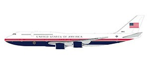 """Boeing 747-8 U.S. Air Force One """"proposed new livery"""" Scale 1/200"""
