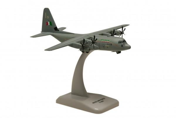 Lockheed Martin C-130J Super Hercules Italy Air Force 75000 Flight Hours Scale 1/200