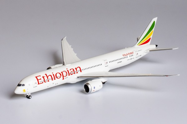 """Boeing 787-9 Ethiopian Airlines named """"London"""" ET-AUP Scale 1/400"""
