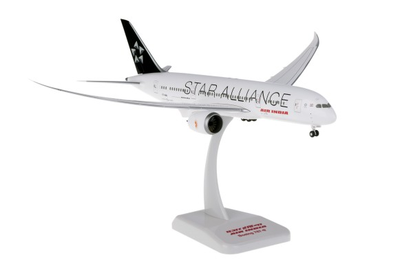 Boeing 787-8 Air India Star Alliance Inflight Wings Scale 1/200