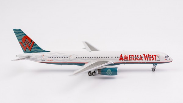 """Boeing 757-200 America West Airlines """"classic livery"""" N913AW Scale 1/400"""