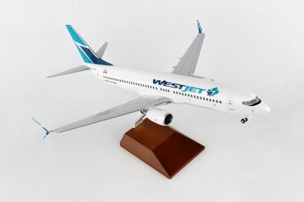 Boeing 737-800 Westjet Airlines Scale 1/100 w/Gear