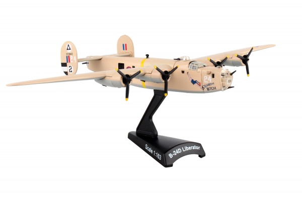 POSTAGE STAMP Consolidated B-24 Liberator Strawberry Bitch Scale 1/163