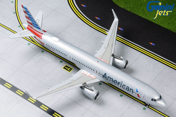 Airbus A321neo American Airlines Scale 1/200