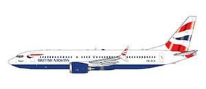 Boeing 737 MAX 8 British Airways Scale 1/400