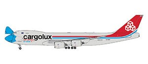 "Boeing 747-8F Cargolux ""Not Without My Mask"" Scale 1/400"