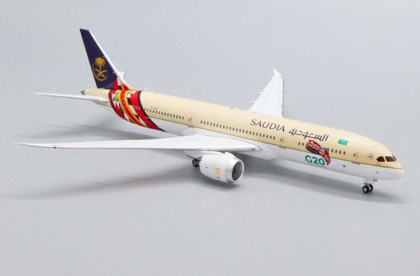 "Boeing 787-9 Saudi Arabian Airlines ""G20 Saudi Arabia 2020"" HZ-ARF Scale 1/400"