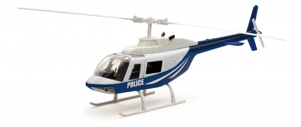 Bell 206 Police Scale 1/34 +++