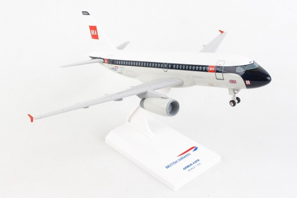 "Airbus A319 British Airways ""BEA Retro Livery"" Scale 1/150 w/G"