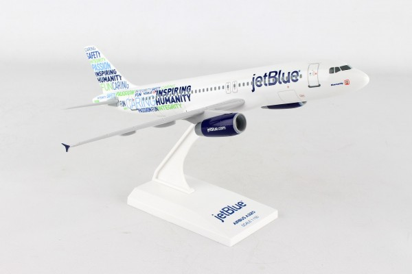 "Airbus A320 jetBlue Airways ""Bluemanity"" Scale 1/150"