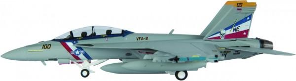 "McDonnell Douglas F/A-18F Hornet US Navy VFA-2 ""Bounty Hunters"" Scale 1/200"