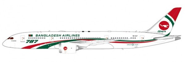 Boeing 787-8 Biman Bangladesh Airlines S2-AJT Scale 1/400
