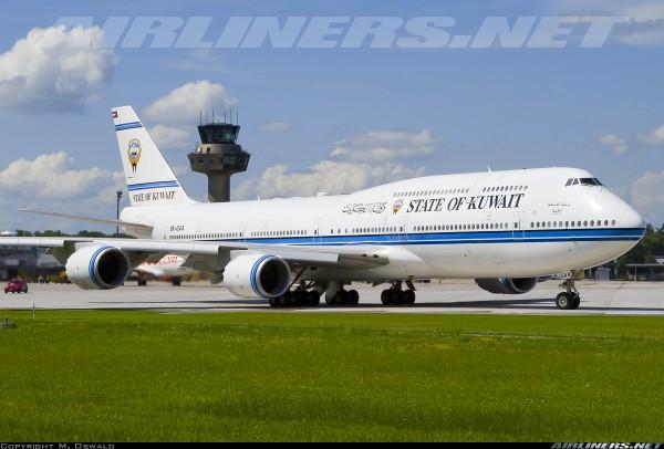 Boeing 747-8(BBJ) Kuwait Government 9K-GAA Scale 1/400