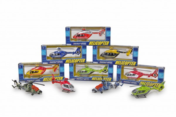 Helicopter die-cast Models / mixed