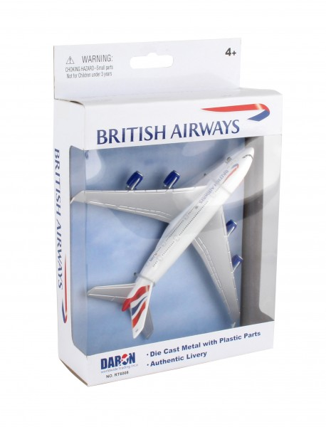 Airbus A380 British Airways Single Toyplane