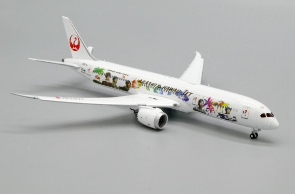 "Boeing 787-9 Dreamliner Japan Airlines ""JAL HAWAII"" Flap Down Version JA873J Scale 1/400"