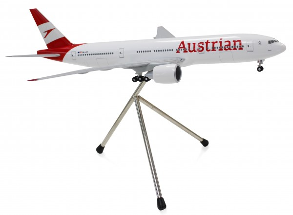 Boeing 777-200ER Austrian Airlines New Livery Scale 1:200 w/G