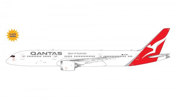 Boeing 787-9 Qantas Airways Flaps Down Version VH-ZNK Scale 1/400