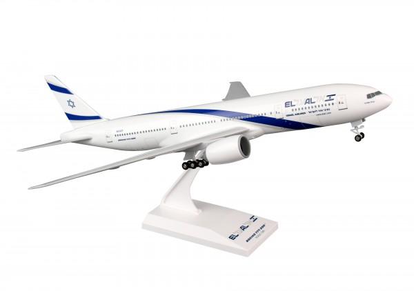 Boeing 777-200 EL AL Israel Airlines 4X-ECF Scale 1/200 w/Gear
