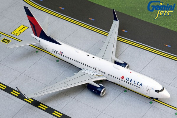 Boeing 737-800 Delta Air Lines N3754A Scale 1/200