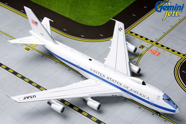 Boeing E-4B United States Air Force (USAF) Scale 1/400