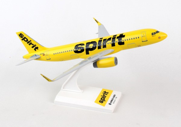 Airbus A320 Spirit Airlines Scale 1/150