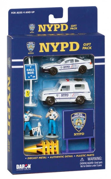 Police Department Play Set small 10pcs