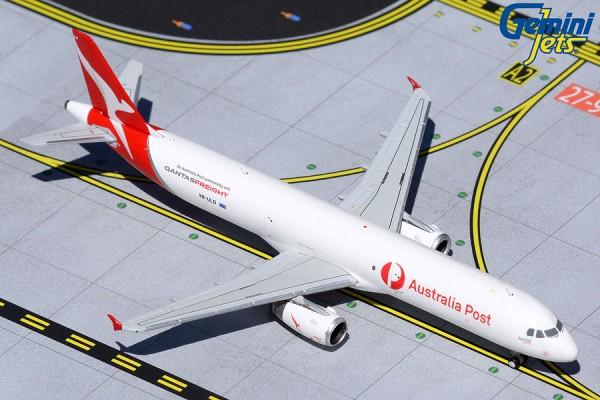 """Airbus A321P2F Qantas Freight """"Australia Post"""" VH-ULD Scale 1/400"""