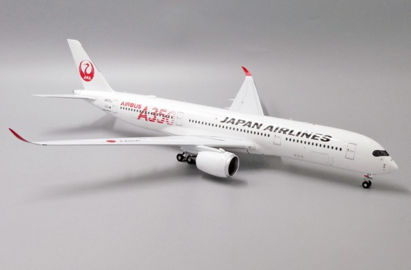 """Airbus A350-900XWB Japan Airlines """"JAL RED"""" JA01XJ Scale 1/200"""