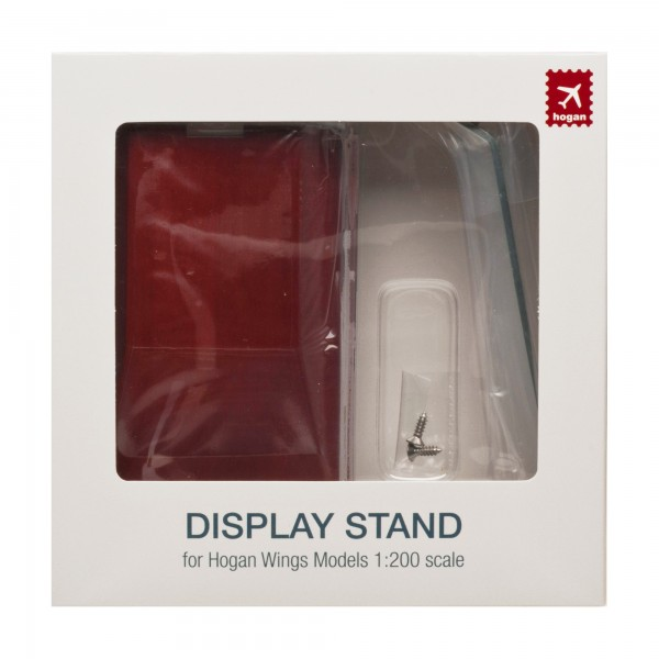 Display Stand: Wooden Stand (Large) for Hogan Wings Models