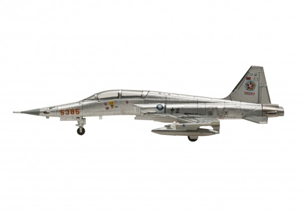 Northrop F-5 Freedom Fighter Republic Of China Air Force (ROCAF) Silver Scale 1/200