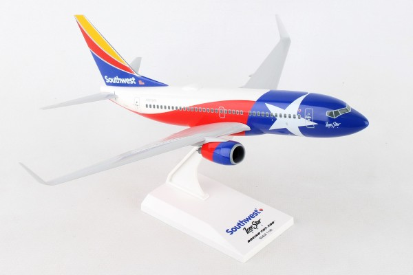 """Boeing 737-700 Southwest Airlines """"Lonestar One"""" Scale 1/130"""