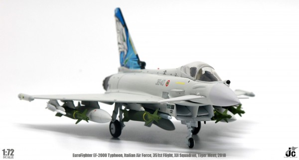Eurofighter EF-2000 Typhoon Italian Air Force 351st Flight, XII Squadron,Tiger Meet, 2018 Scale 1/72