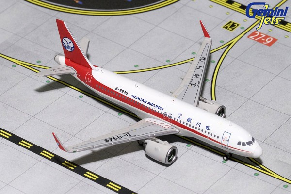 Airbus A320neo Sichuan Airlines B-8949 Scale 1/400
