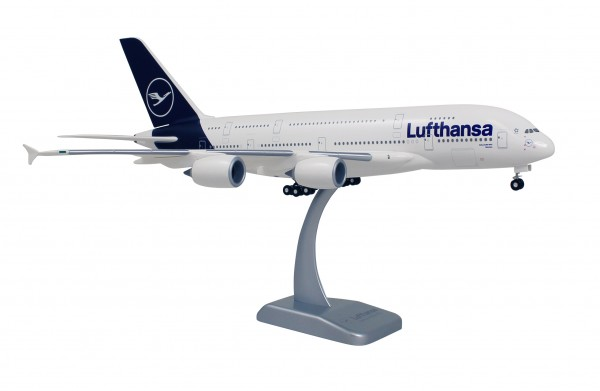 Airbus A380-800 Lufthansa New Livery Scale 1:200 w/G