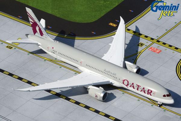 Boeing 787-9 Qatar Airways A7-BHA Scale 1/400