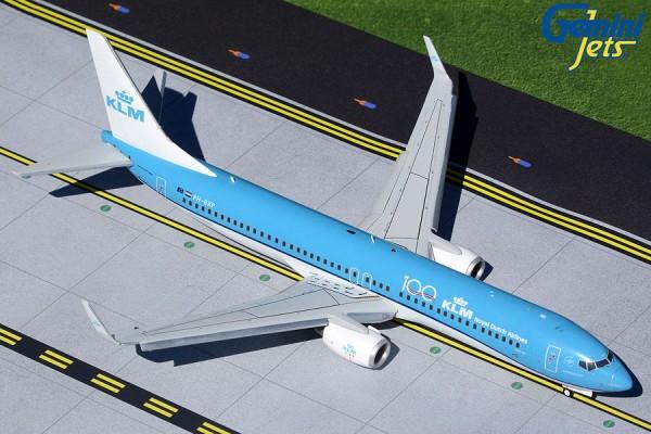 "Boeing 737-900 KLM ""KLM 100"" Flaps Down Version PH-BXP Scale 1/200"