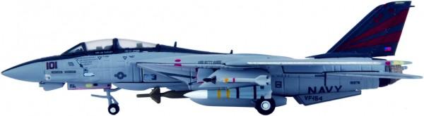 "Grumman F-14A Tomcat US Navy VF-154 ""Black Knights"", CVW-5, CV-63, USS Kitty Hawk Scale 1/200"