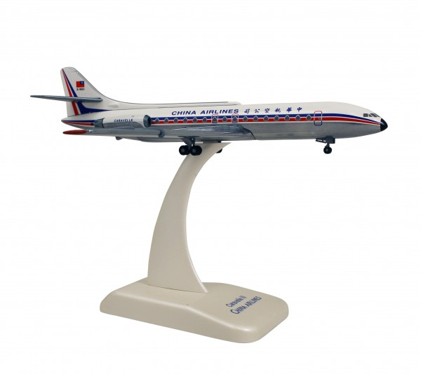 Sud Aviation Caravelle III China Airlines B-1850 Scale 1:200