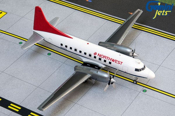 Convair CV-580 Northwest Airlines N3423 Scale 1/200