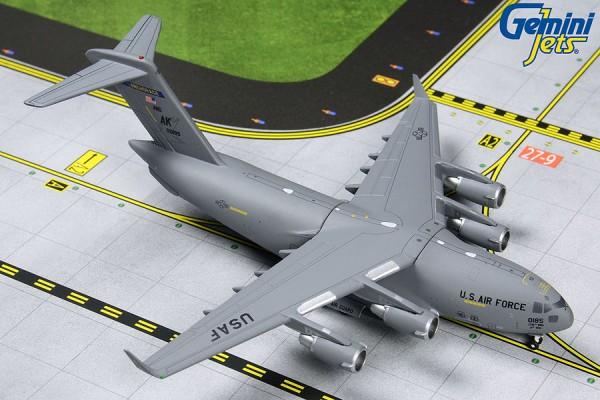 "Boeing C-17 Globemaster III United States Air Force (USAF) ""Alaska ANG"" Scale 1/400"