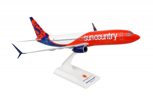 Boeing 737-800 Sun Country New Livery Scale 1/130