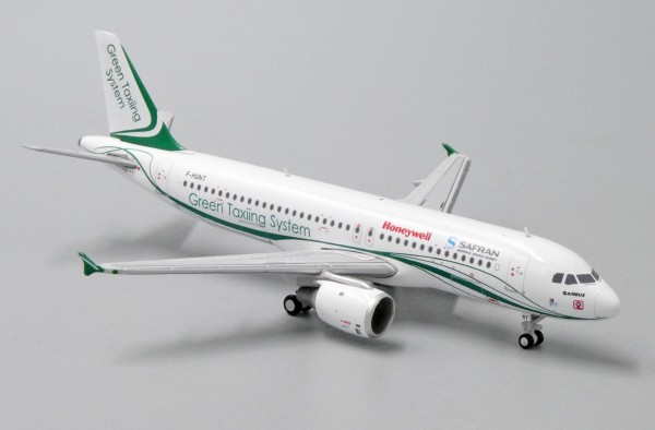 """Airbus A320 Safran """"Green Taxing System Livery"""" F-HGNT Scale 1/400"""