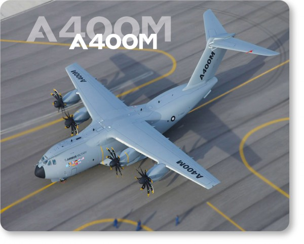 Airbus A400M Mousepad