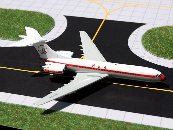 Vickers Standard VC-10 Middle East Airlines (MEA) OD-AFA Scale 1/400