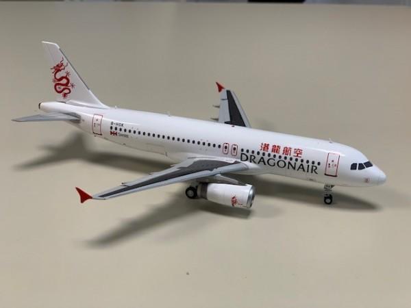 Airbus A320 Dragonair B-HSK Scale 1/200