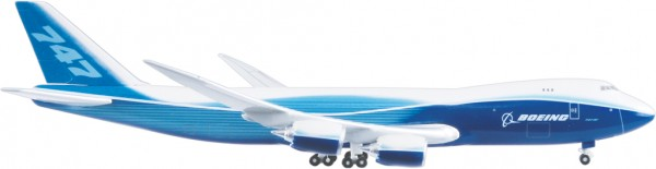 Boeing 747-8F House Color Scale 1:500