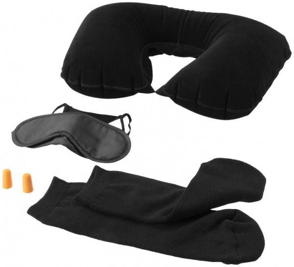 Travel Set inflatable, black